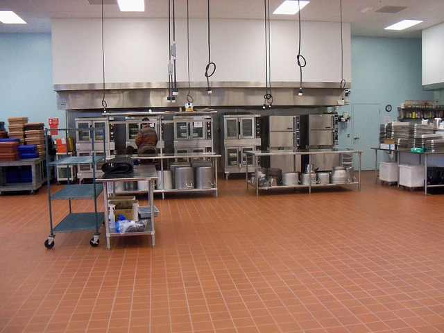 commercial kitchen power
